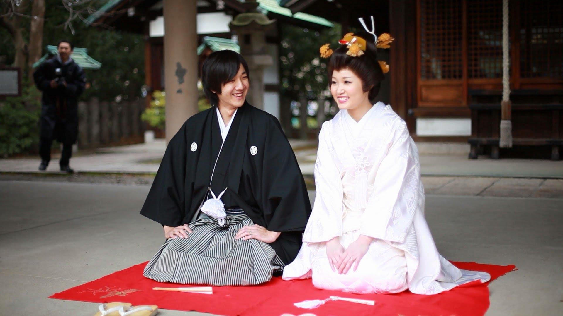 картинки японская свадьба